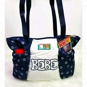 ♦Bebe Diaper Bag Overnight Water-resistant NWT NEW